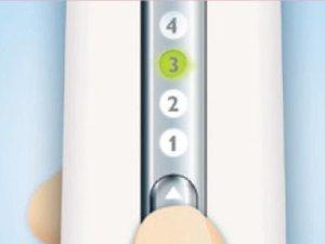 Arschhaare dauerhaft entfernen - Lichtintensität einstellen